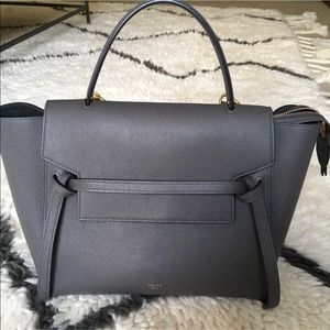 Celine Mini Belt Bag - Grey